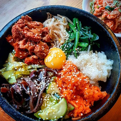 Lime Orange Korean Restaurant - Bibimbap