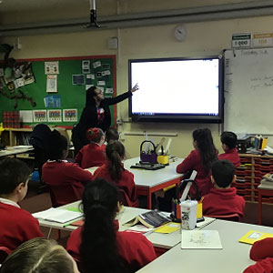 Website Presentation at Squirrels Heath Junior School